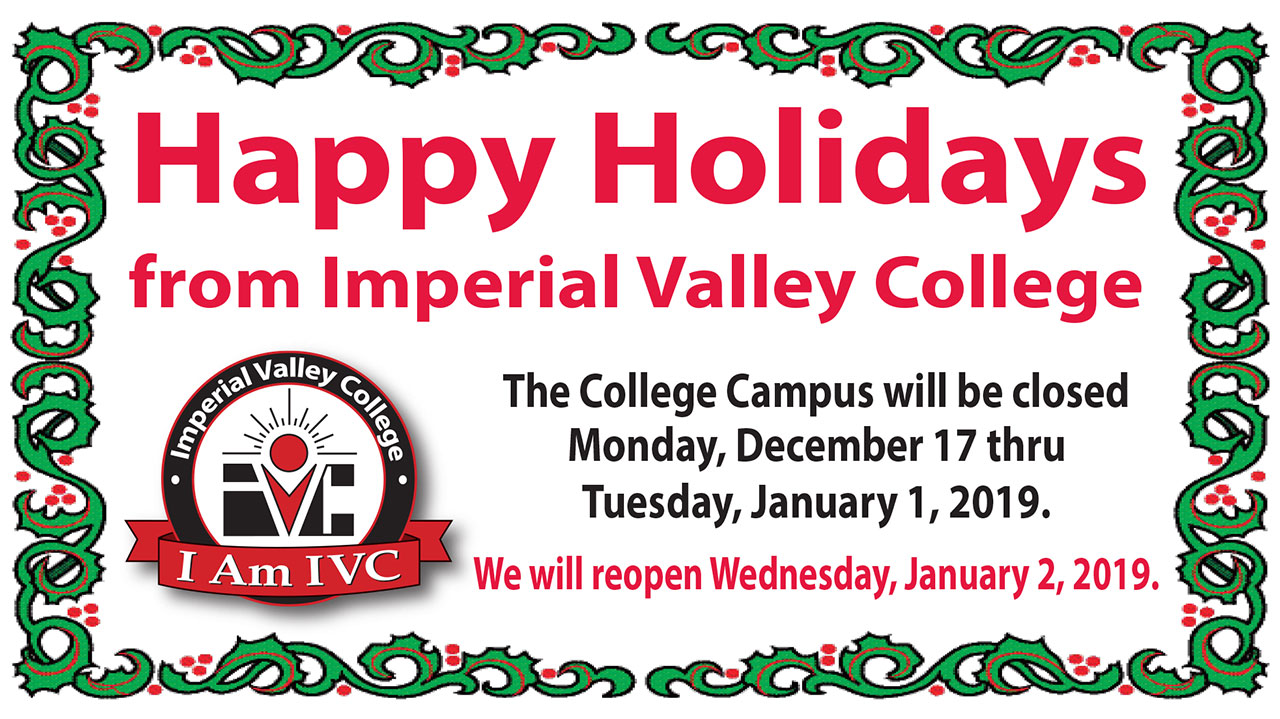 Happy Holidays from IVC
