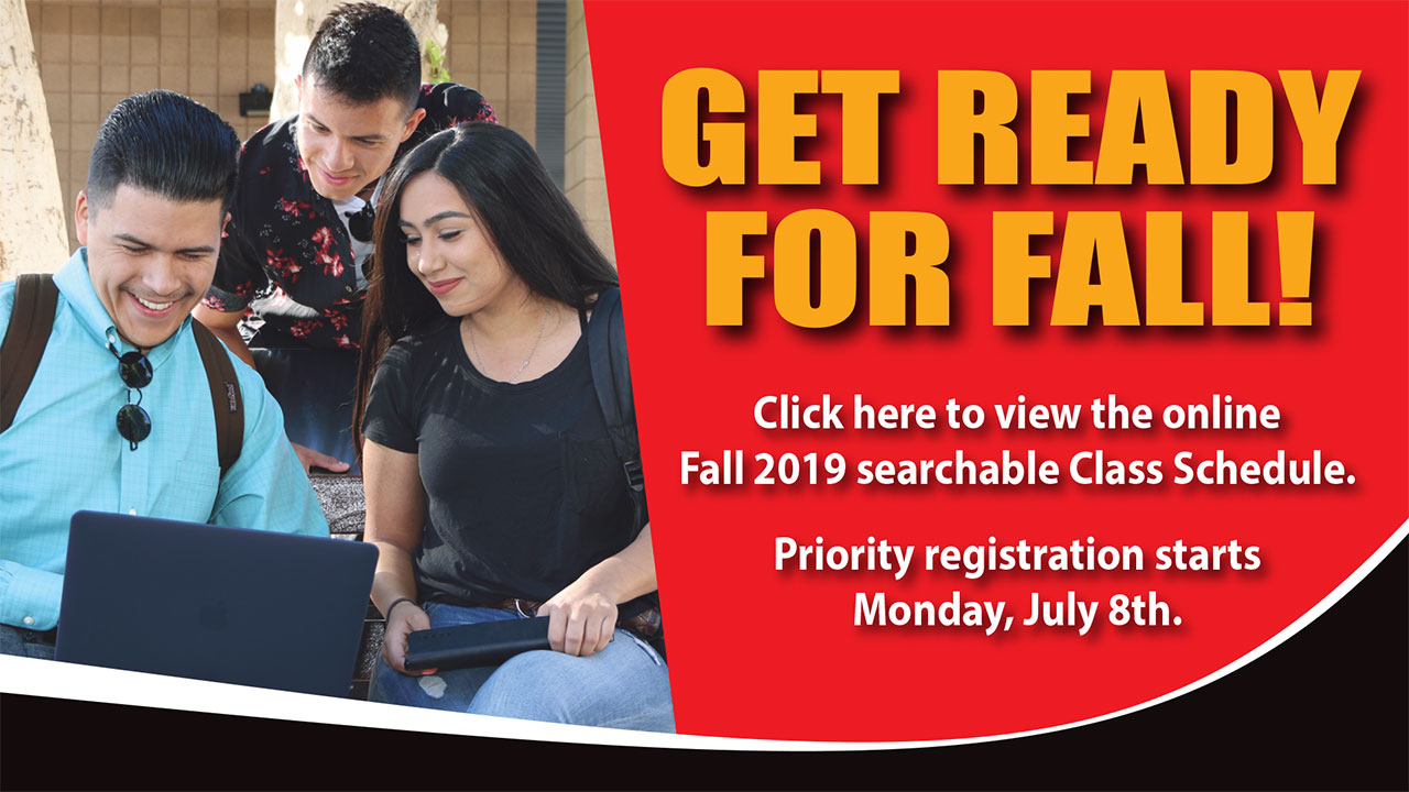 Fall 2019 Registration Starts July 8th