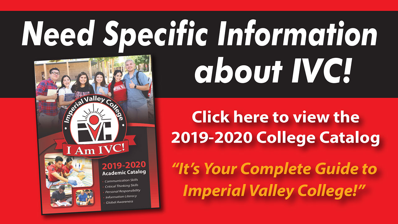 Check out the 2019-2020 Catalog for Specific Degree/Certificate Program Information
