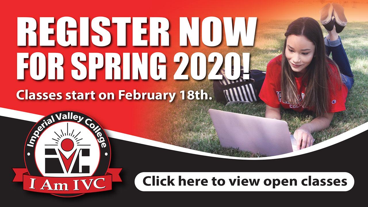 Open Spring 2020 Classes
