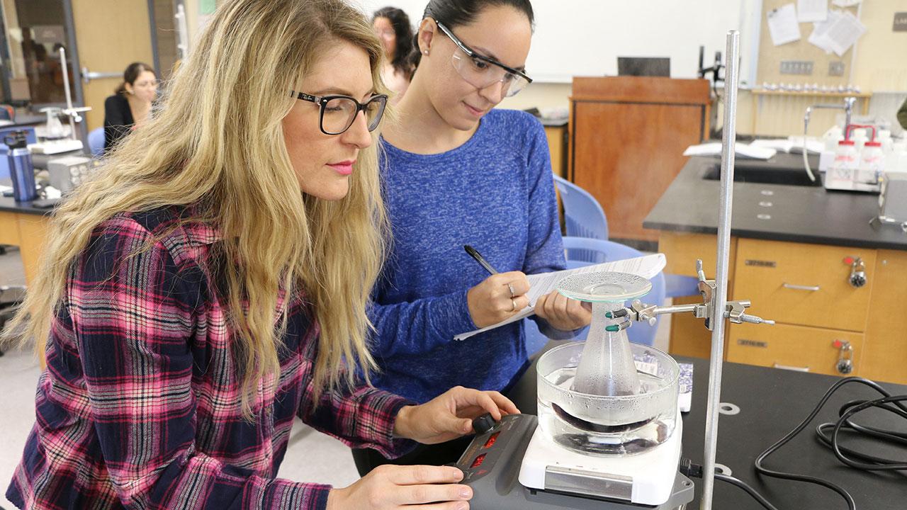Chemistry for Transfer Program