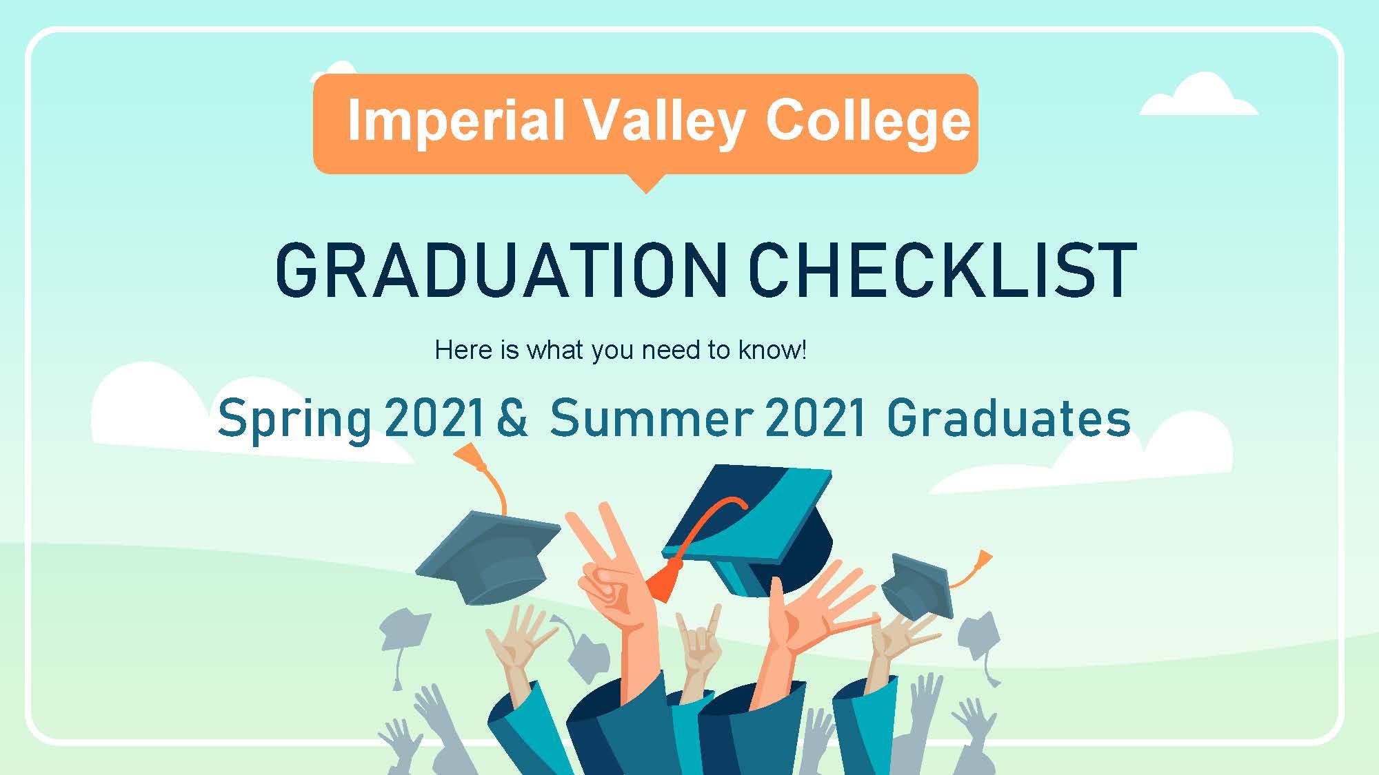 Graduation Checklist Pic