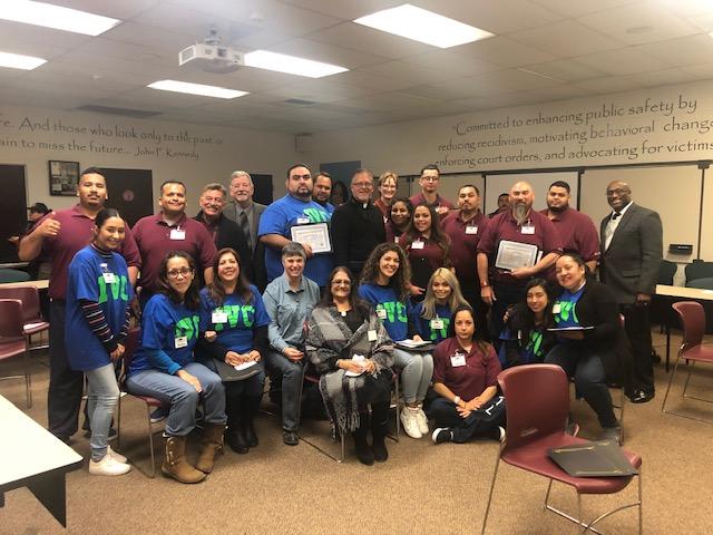 Group Photo at I O Ceremony Fall 2018