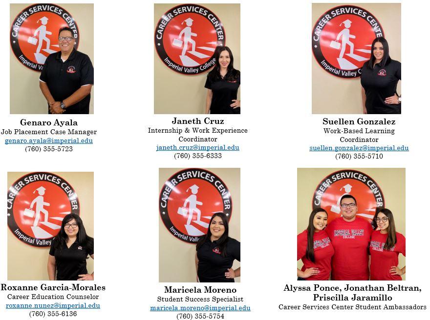 career center staff photo