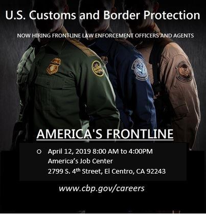 Customs Border Patrol flyer