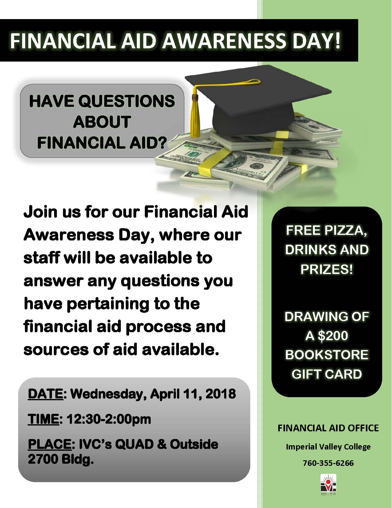 Financial Aid Awareness Day 2018