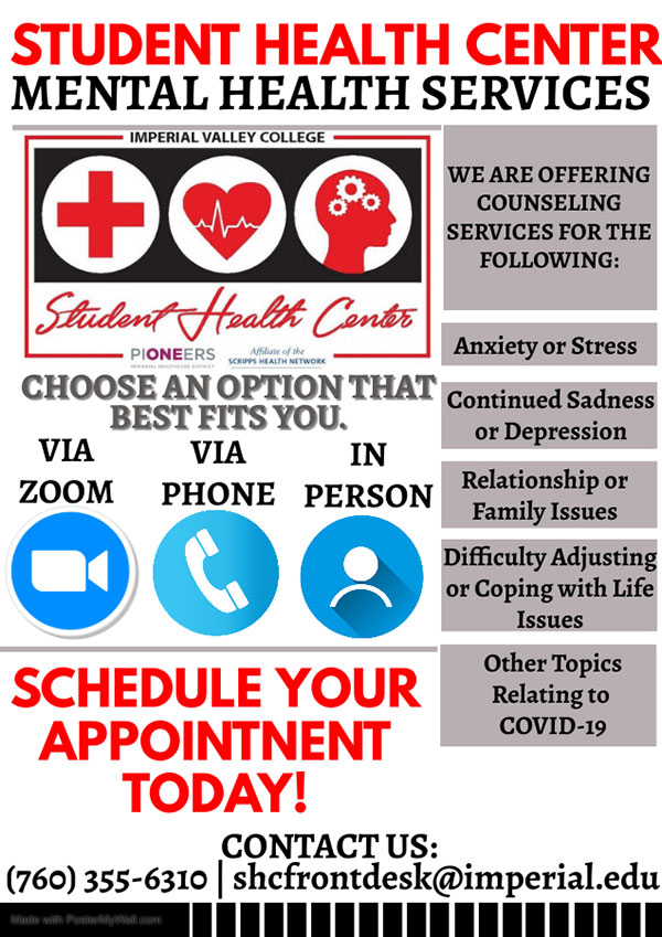 Virtual Counseling Flyer COVID 19