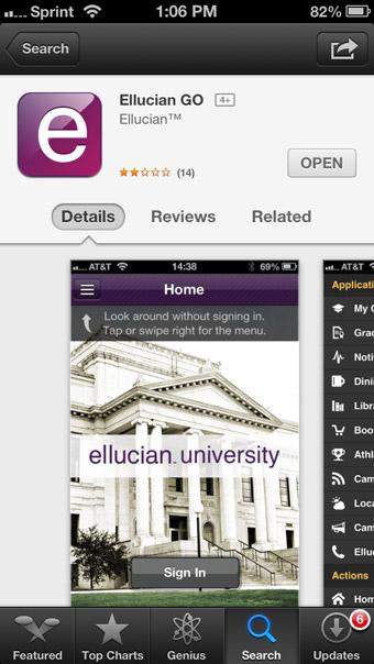 IVC Ellucian GO App Screenshot 02