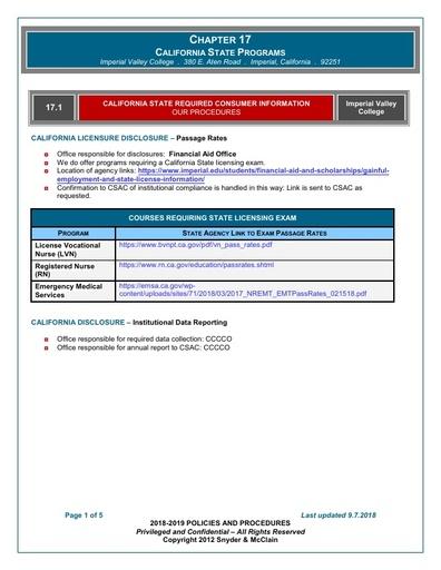 18 19 PP C17  State Programs