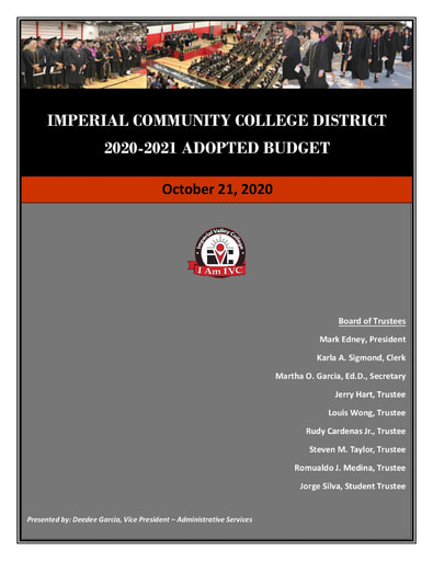 2020-21 Final Adopted Budget