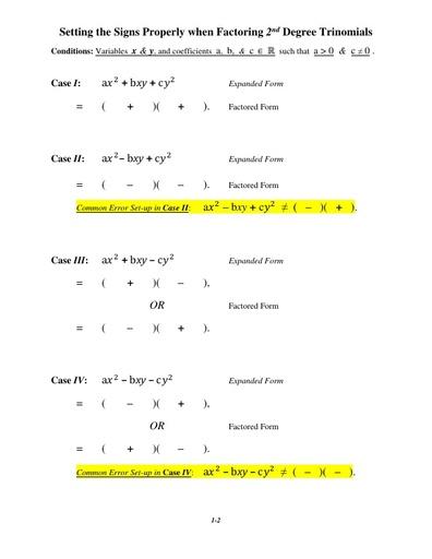 IVC factsheet factoringquads signs