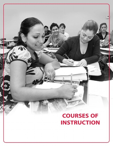 2013-2014 Catalog - Part 08 - Courses of Instruction