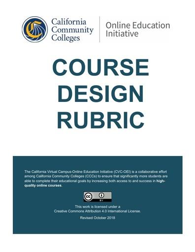 CVC OEI Course Design Rubric rev 2 14 2019 (3)