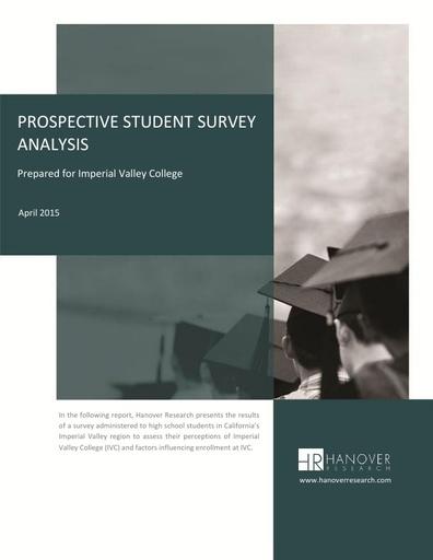 Prospective Student Survey Analysis