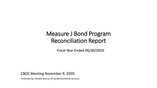 Expenditure Report 2020-06-30 Measure J