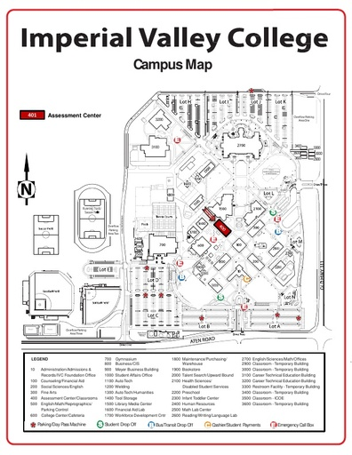 Campus Map - Imperial Valley College - Imperial Valley College