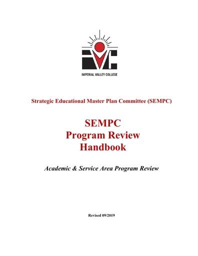 IVC Program Review Handbook 2019-2020