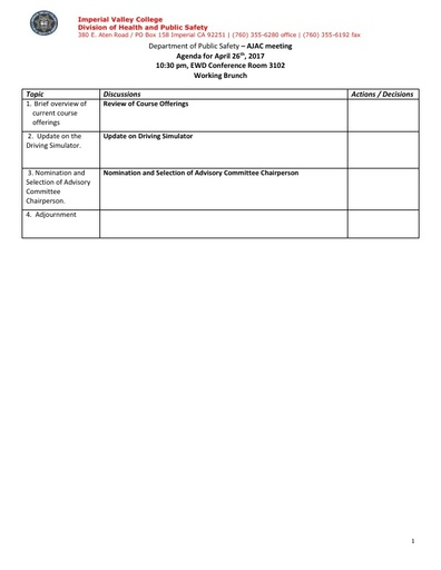 2017_04_26 Administration of Justice Program Advisory Committee Meeting Agenda
