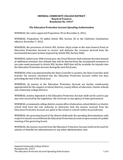 Proposition 30 Resolution 2020-21