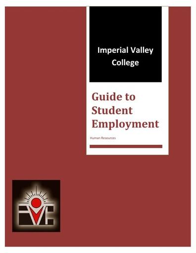 Guide to Student Employment Handbook 2018
