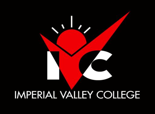 Ivc logo vertical black bg 2 colors