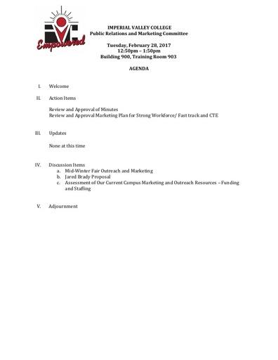 PRMC Agenda 2 28 17