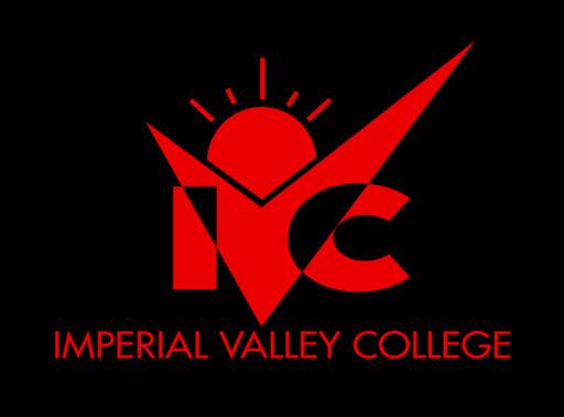 Ivc logo vertical black bg 1 color red
