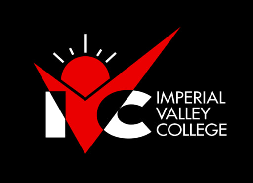 Ivc logo horizontal black bg 2 colors red white