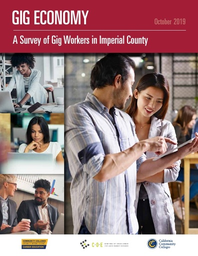 Gig Economy Study Imperial County Full Report October 2019
