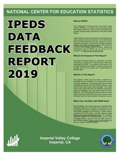 IVC IPEDS DATA FEEDBACK REPORT 2019