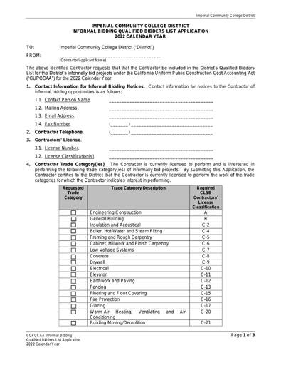 CUPCCAA Application 2021