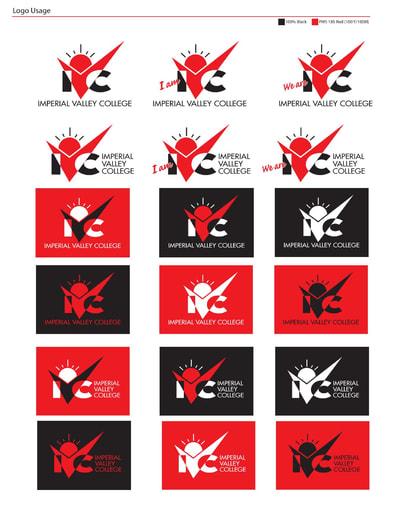 Ivc logo usage variations