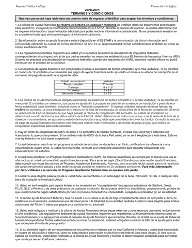 TC Spanish 2021