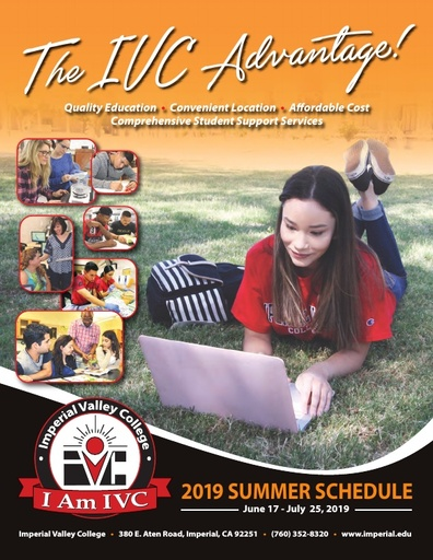 2019-06-17 - IVC Summer Schedule