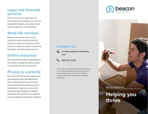 Beacon Trifold Brochure