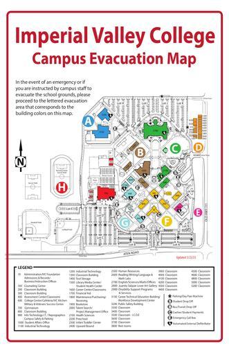 IVC Evacuation Map