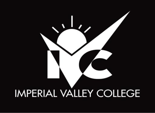 Ivc logo vertical black bg 1 color white