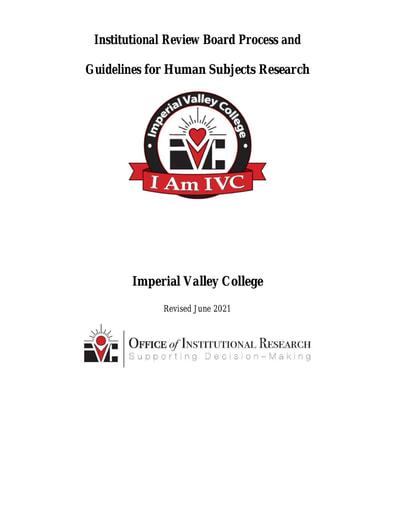 IVC IRB Manual rev 09 2021