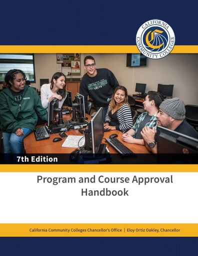 Program and Course Approval Handbook