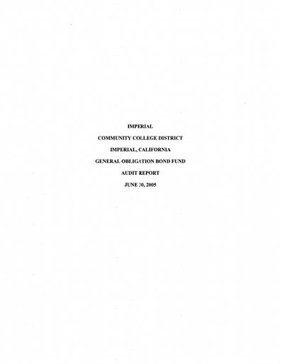 2005-06-30 Bond Audit