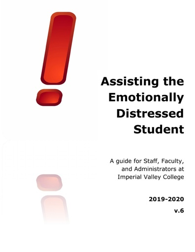 Emotionally Distressed Student Handbook 2018-2019
