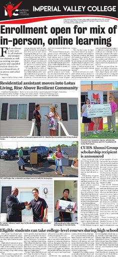 Imperial Valley Press Page July 2021