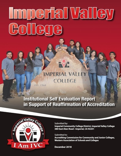 2018 IVC Institutional Self Evaluation Report