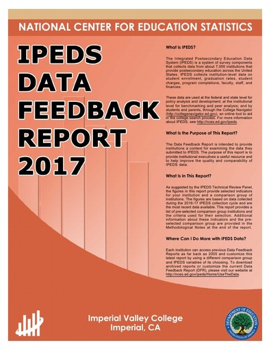 IVC IPEDS DATA FEEDBACK REPORT 2017
