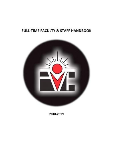 2018-2019 Staff & Faculty Handbook