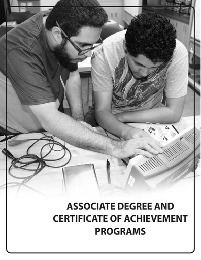 2018-2019 Catalog - Part 06 - Associate Degree and Certificate Programs