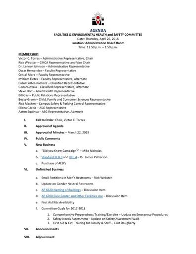 Agenda FEHSC 2018 04 26