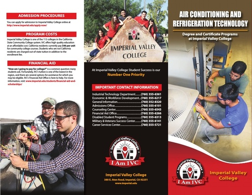 CE Brochure Air Conditioning and Refrigeration Tech 10 19
