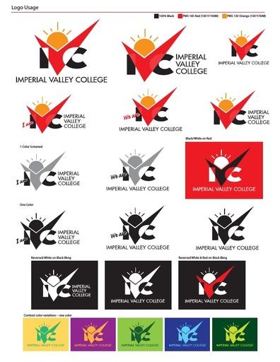 Ivc logo usage variations sheet
