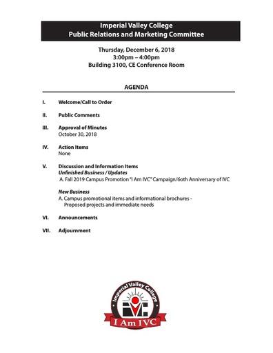 PRMC Agenda 12 06 18